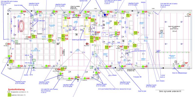 eksempel på floorplan fra Logic Group
